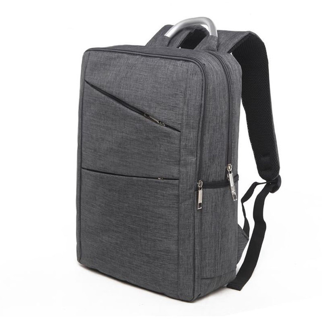 0ab7eb30ee Waterproof Men Laptop Backpack Business Computer Backpack Bag 17 Inch Women  Men s Bag Backpack Grey leisure