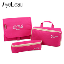 Necessaire Pack Toilet Beauty Vanity For Travel Set Toiletry Kit Cosmetic Makeup Make Up Bag Case Handbag Organizer Women Pouch