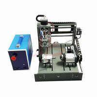 CNC 2030 Wood Router Engraver 4 axis Mini Milling Machine with Parallel Port & USB port 2 in 1 Control Box