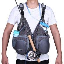 Goture открытый жилет для нахлыстовой рыбалки Многофункциональный регулируемый размер спасательный жилет для рыбалки охоты Мужчины/wo мужская одежда