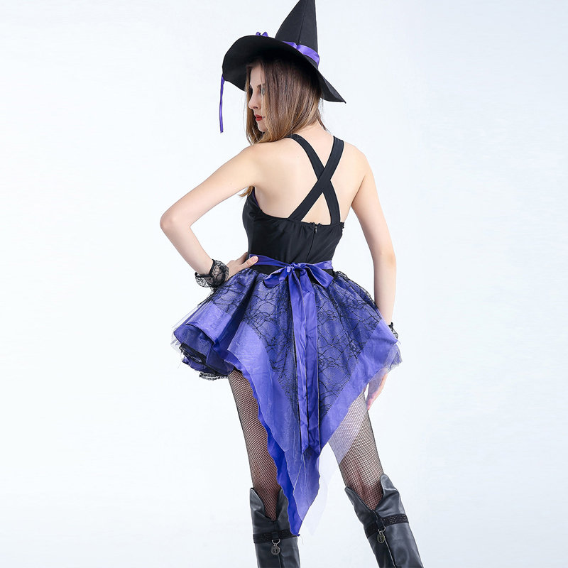 Adult Sexy Gothic Queen Witch Costumes Outfit Dress Fancy Cosplay Carnival Costume Sexy Dresses Halloween Costumes For Women (4)