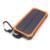 10000 mah viagem à prova d' água solar power bank dual usb carregador solar de bateria externa powerbank para iphone 6 s com diodo emissor de luz de acampamento acampamento luz