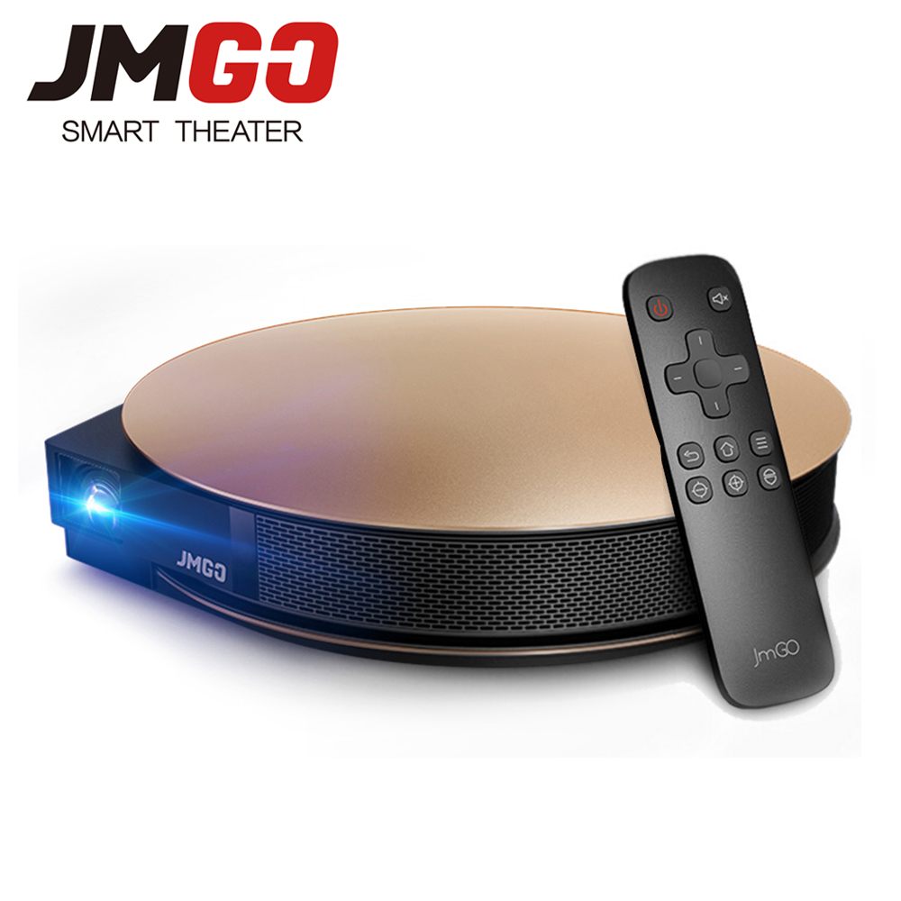 JMGO G3 Pro 1200 ANSI Lumens Android Projector Built in WIFI Bluetooth 4 0 Support 4K