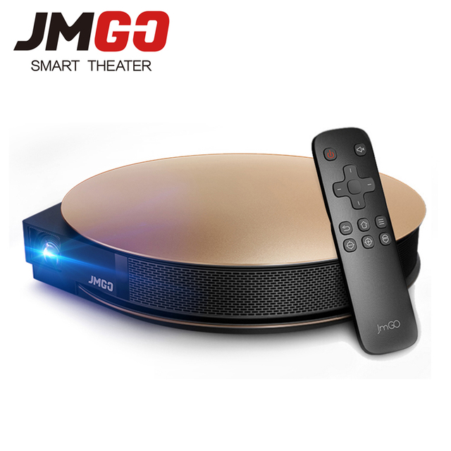 JMGO G3 Pro 1200 ANSI Lumens Android Projector, Built-in WIFI, Bluetooth 4.0. Support 4K Decode Portable HD LED Projector