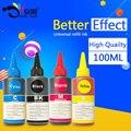 4 color universal dye ink para hp, 100 ml/garrafa, para hp premium dye ink, geral para hp tinta da impressora todos os modelos