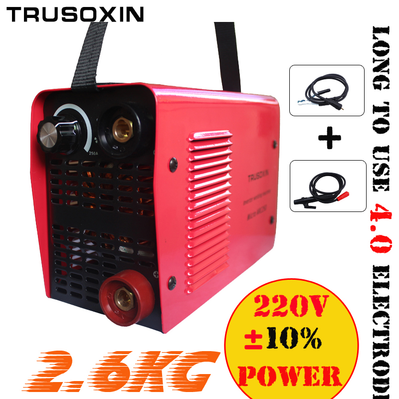 ヾ(^  ^)ノМини 220 В/-240 В 2,6 кг IGBT инвертора сварочный ...