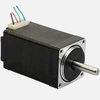 New Leadshine NEMA 8 stepper motor 0.03 N.m (4 oz in) holding torque 2 phase step motor 4 wires shaft size 4mm