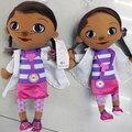 Doc McStuffins доктор девушки 12 дюймов размер плюшевые игрушки фаршированные куклы Brinquedos