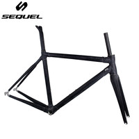 Clearance sale cheap carbon frame road bike SEQUEL raw frame in stock can be sent immediately 3k BSA good quality customizable