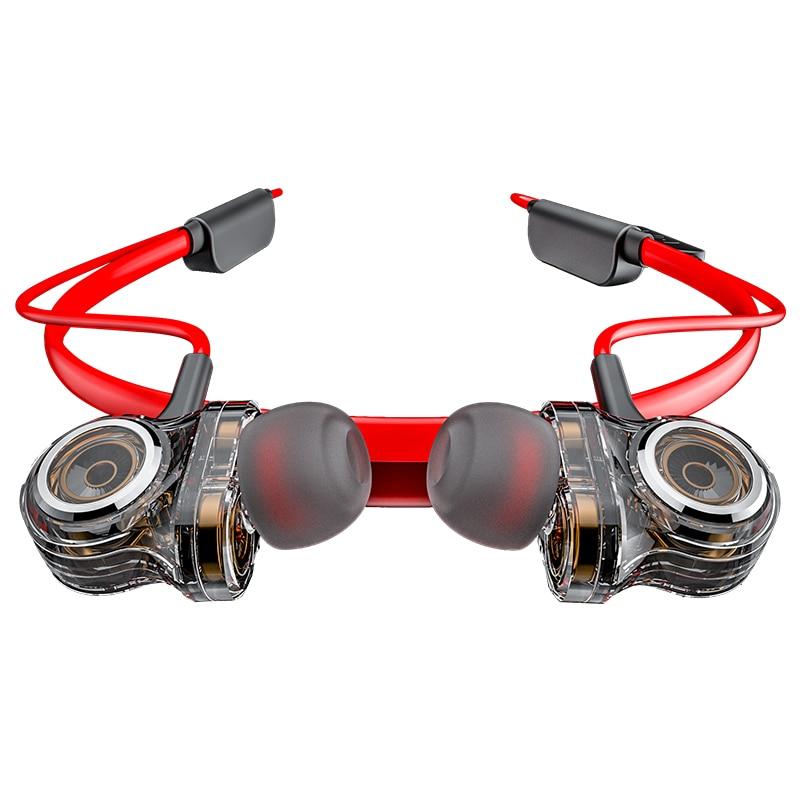 Wireless Bluetooth Earphone 6 Drive Dynamic HiFi Stereo Earphones IPX6 Waterproof Noise Cancelling Sport Wireless Headphones