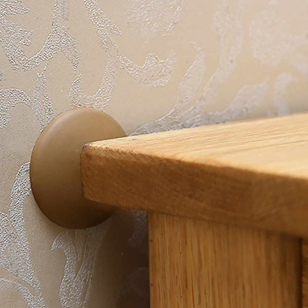 Porta rolha maçaneta da porta protetor de parede saborear à prova de choque bater almofada parar drop ship silicone maçaneta da porta rolha 7 estilos s30