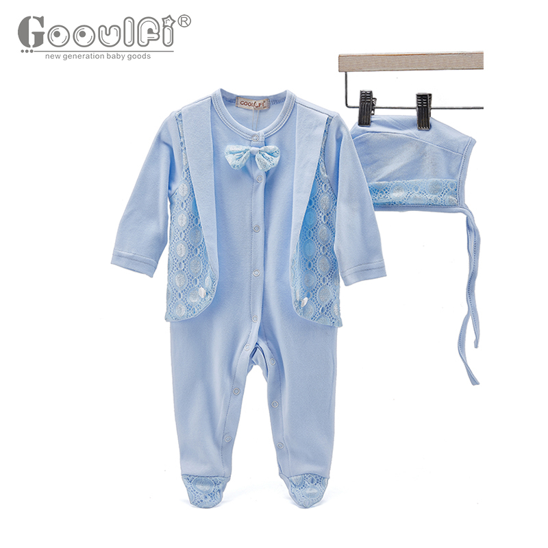 Fashion Baby Rompers Newborn Baby Clothes Infant Jumpsuit Lace Trim Suit With Cap 2 Pieces Baby Infant Wedding Clothing Set newborn baby rompers baby clothing 100% cotton infant jumpsuit ropa bebe long sleeve girl boys rompers costumes baby romper