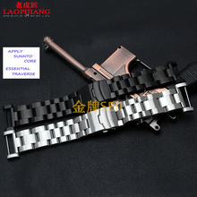 Laopijiang Sunto SUUNTO song Billiton core core band solid stainless steel bracelet watch strap steel watch