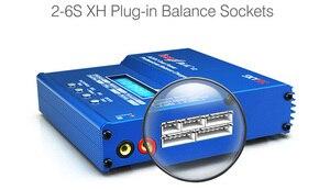 Image 5 - الأصلي SKYRC iMAX B6AC V2 6A يبو بطارية شاحن ميزان شاشة الكريستال السائل مفرغ ل RC نموذج شحن البطارية إعادة وضع الذروة