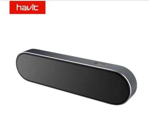 HAVIT سمّاعات بلوتوث 3D ستيريو سوبر باس مكبر الصوت اللاسلكي 2000mAh AUX المحمولة صندوق الصوت ل فون كمبيوتر لوحي (تابلت) وهاتف ذكي