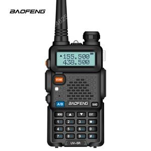 Image 5 - BaoFeng اسلكية تخاطب UV 5R اتجاهين راديو ترقية النسخة uv5r 128CH 5 W VHF UHF 136 174 Mhz و 400 520 Mhz متعددة تركيبات