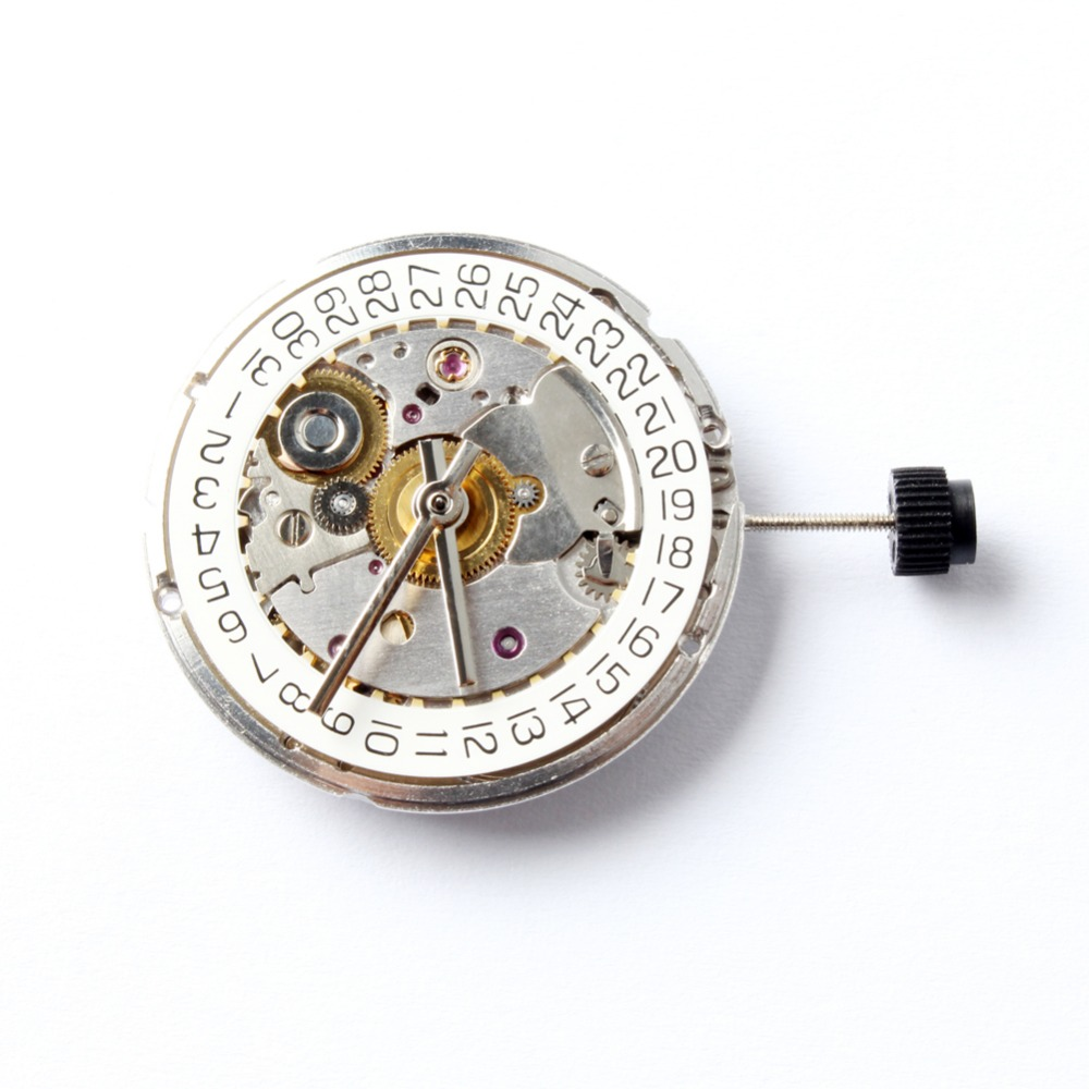 Seagull ST2130 Automatic Movement Clone Replacement For ETA 2824 2 SELLITA SW200 White 3H Mechanical Wristwatch