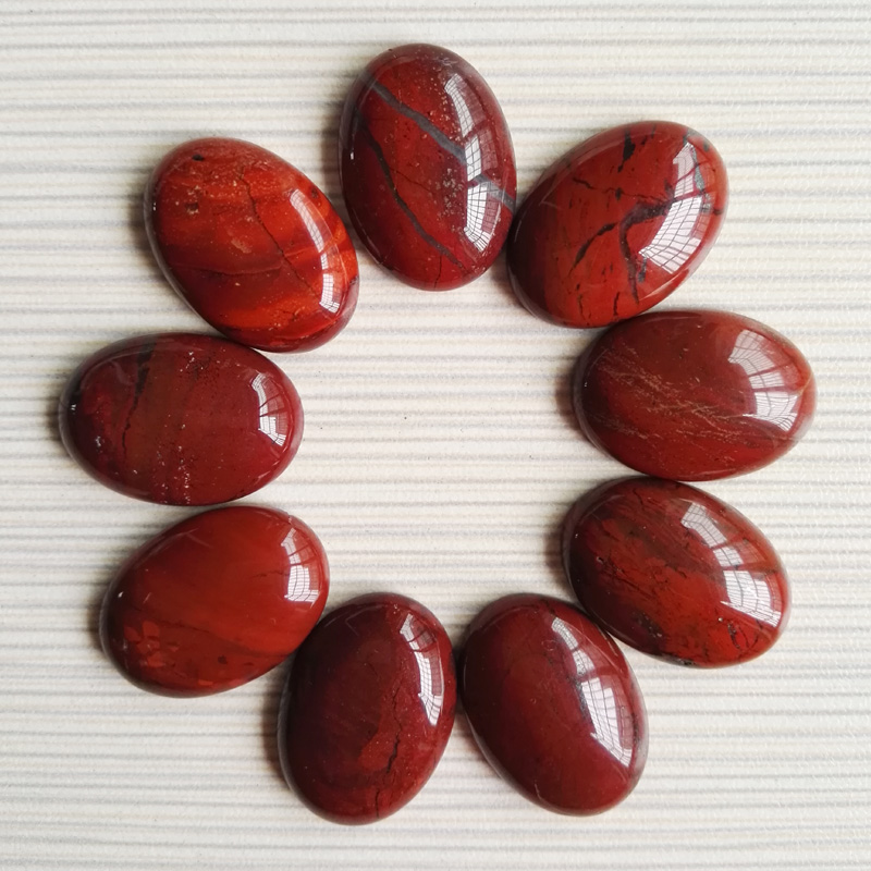 Red Natural Stones : Online buy wholesale red cab from china