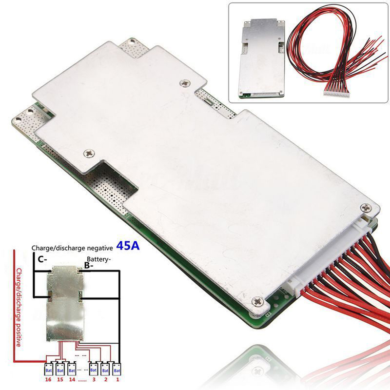 3S//4S//13S//16S//20S//24S BMS PCB Protection Board For 18650 Lithium Battery Cell