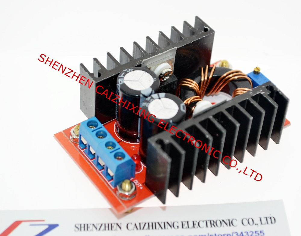 <font><b>150W</b></font> <font><b>Boost</b></font> <font><b>Converter</b></font> DC-DC 10-32V to 12-35V Step Up Voltage Charger Module Dropshipping image