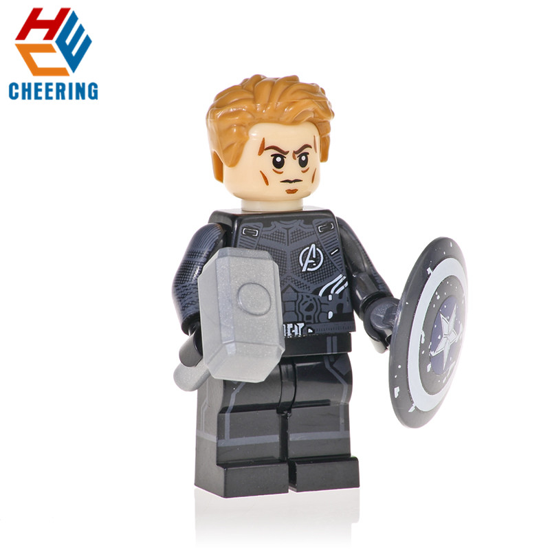Single Sale Building Blocks Super Heroes INFINITY WAR Rocket Thanos Spiderman ron Man Proxima Night Bricks Toys For Kids KF1127 image