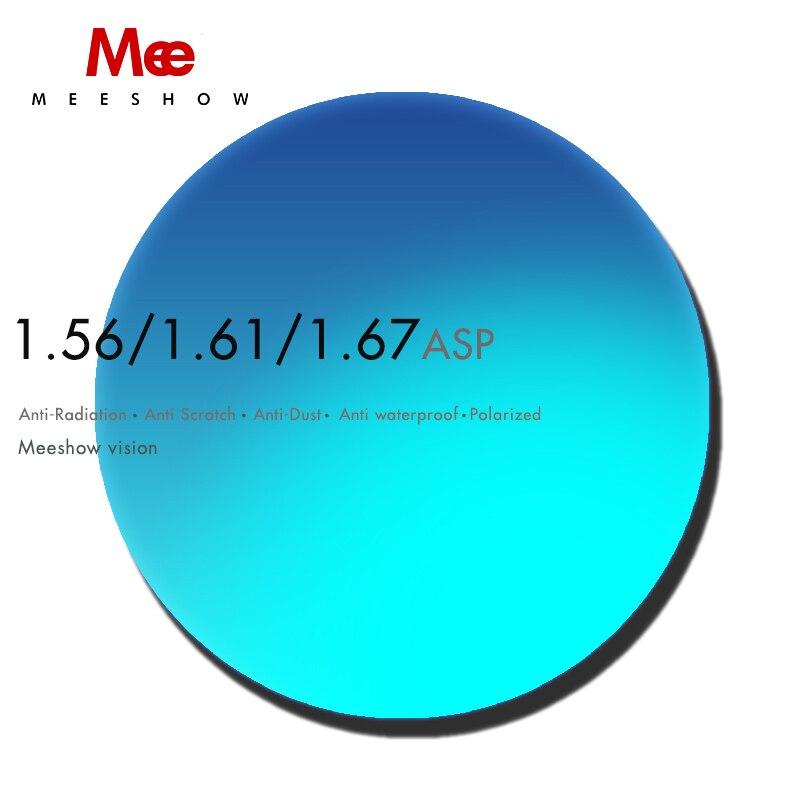 1.56 1.61 1.67 (-0.50 ~-8.00) verres de Prescription polarisés verres de lunettes asphériques en résine verres de lunettes de soleil myopie lentilles de vision nocturne