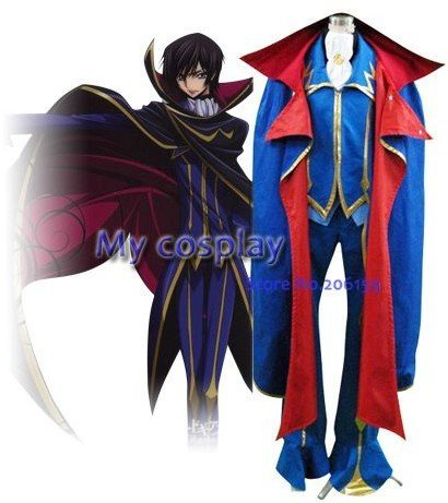 Japanese Anime Code Geass Cosplay Suit For Men Male Halloween Party