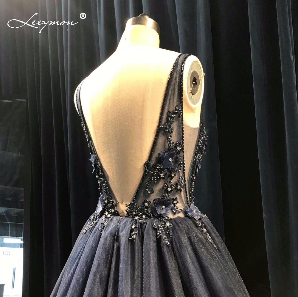V-neck Boho Princess Backless Wedding Dress