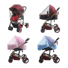 Newborn Baby Stroller Crip Netting Toddler Infant Pushchair Mosquito Insect Net Safe Mesh Outdoor Care Full Cover
