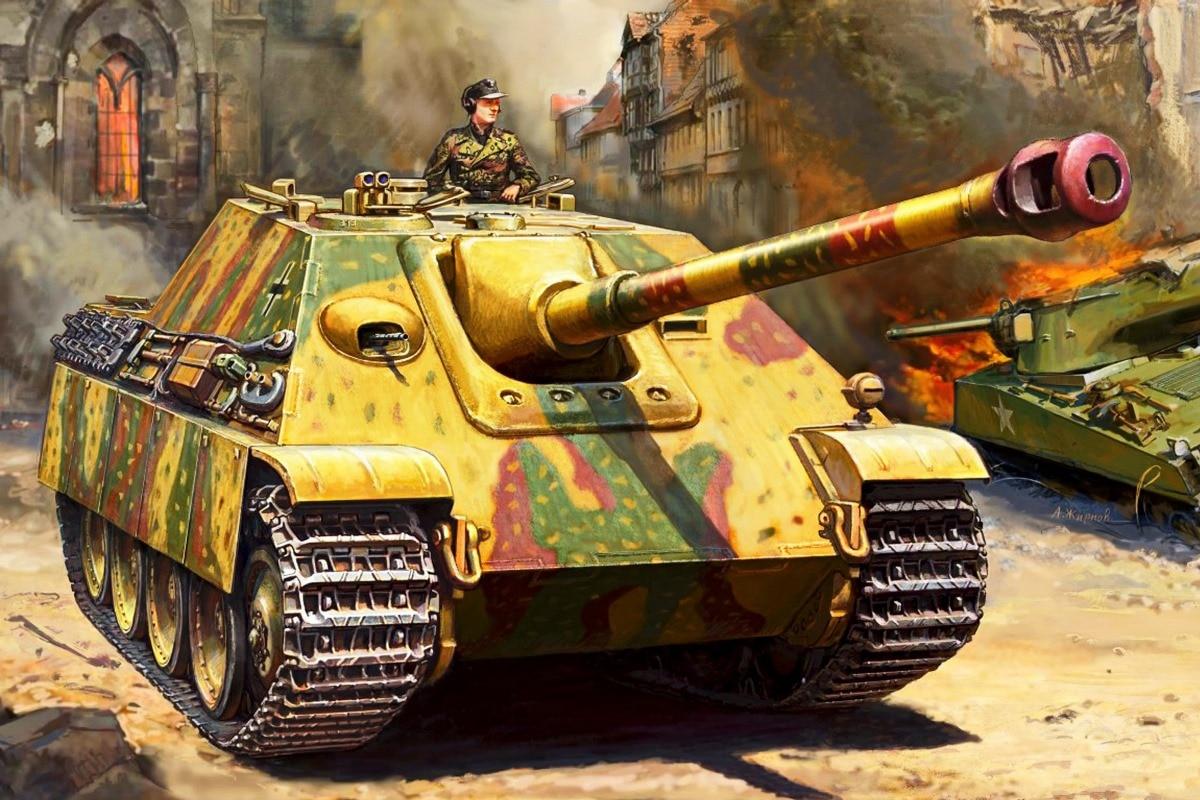 SAU class tank destroyers WW2 Germany Jagdpanther living room ...