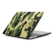 Camo cover for macbook pro 13 2016 Camouflage laptop sleeve for macbook 2016 pro 13 A1708 case mac 13 inch non touch bar shell(China)