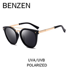 BENZEN Polarized Sunglasses Women Double Beam Colorful Female Sun Glasses Ladies Shades UV Driving Glasses With Case 6388