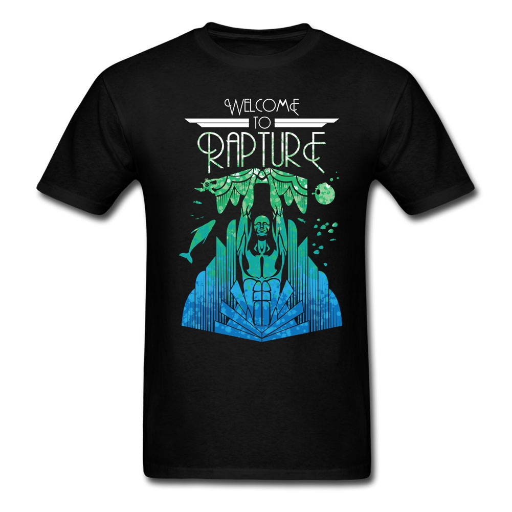 Adult Man Comic Welcome To Rapture T Shirts Custom Made