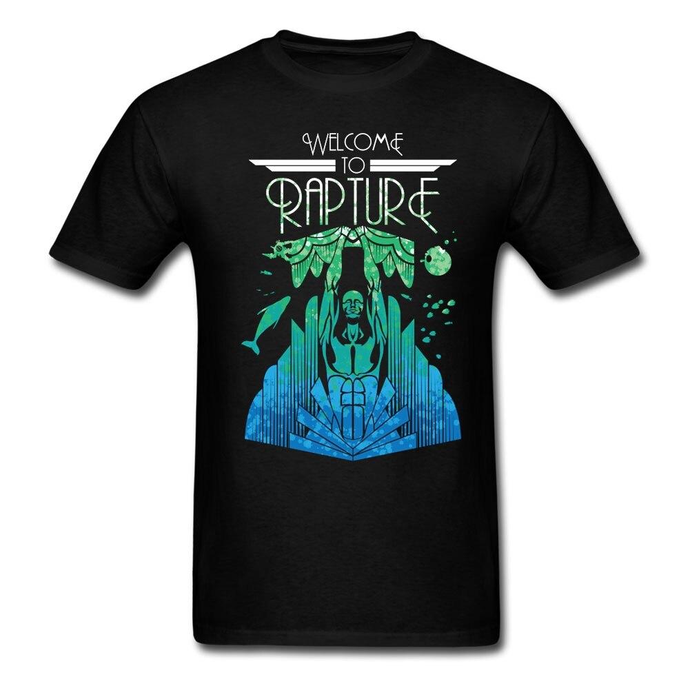 Adult man comic welcome to rapture t shirts custom made for Custom made tee shirts