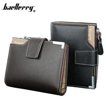 f55cba6ab3 New 2017 Short Wallets PU Leather Brand Men Wallets Dollar Price Bifold  Wallet Men Card Holder