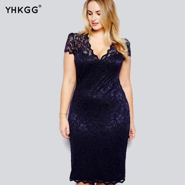 Vestido de renda plus size comprar
