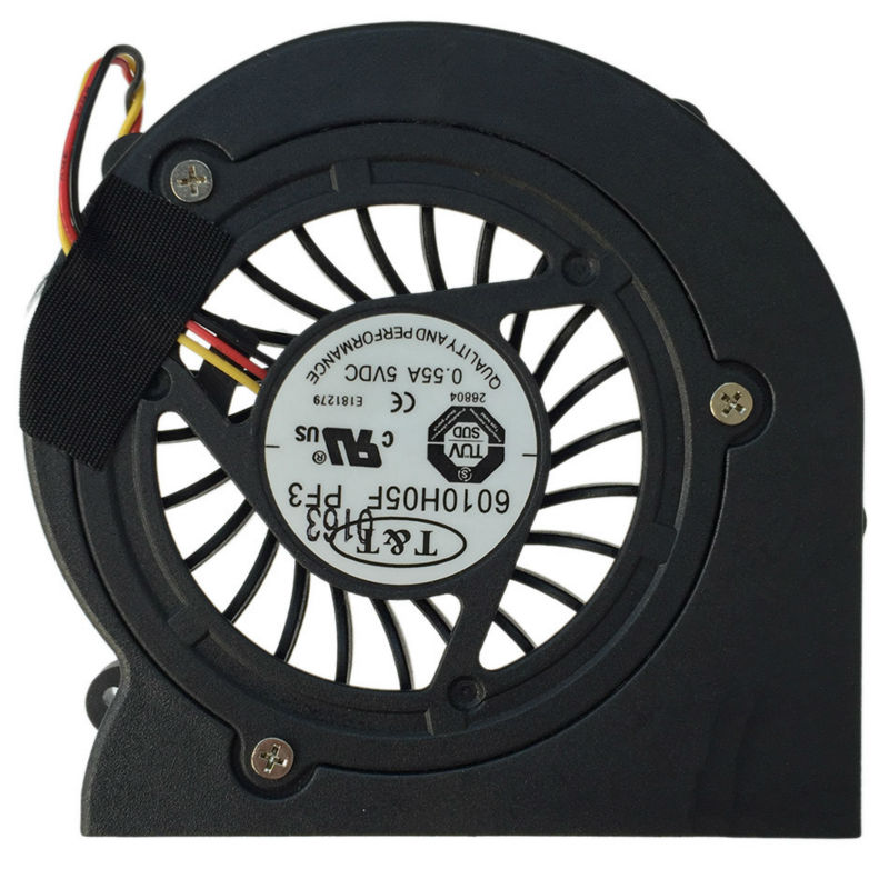 New Original Cpu Cooling Fan For MSI EX610 GX610 M670 6010H05F PF3 Laptop Cooler Radiators Cooling Fan Free Shipping free shipping original delta cooling fan nfb10512hf 7f03 49 87y01g001 12v 0 39a 3 wires projector 5pcs lot