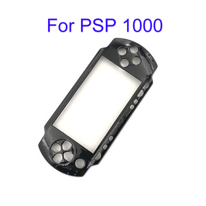Image 4 - שחור קדמי לוחית פגז מקרה כיסוי Proctector החלפה עבור PSP 1000 2000 3000