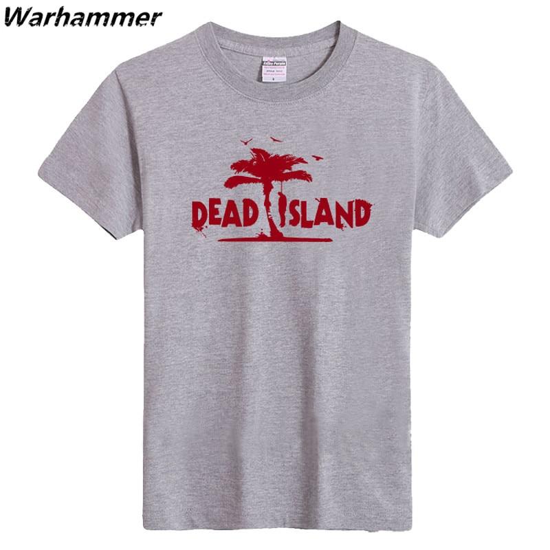 T gömlek 2017 vrouwen Ölü Ada T gömlek Erkekler Oyun Oyuncu Kısa - Erkek Giyim - Fotoğraf 4