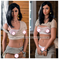 WMDOLL 162cm Real Doll Sex Robot Dolls Plastic Pussy Doll Silicone Sex Doll Small Breast