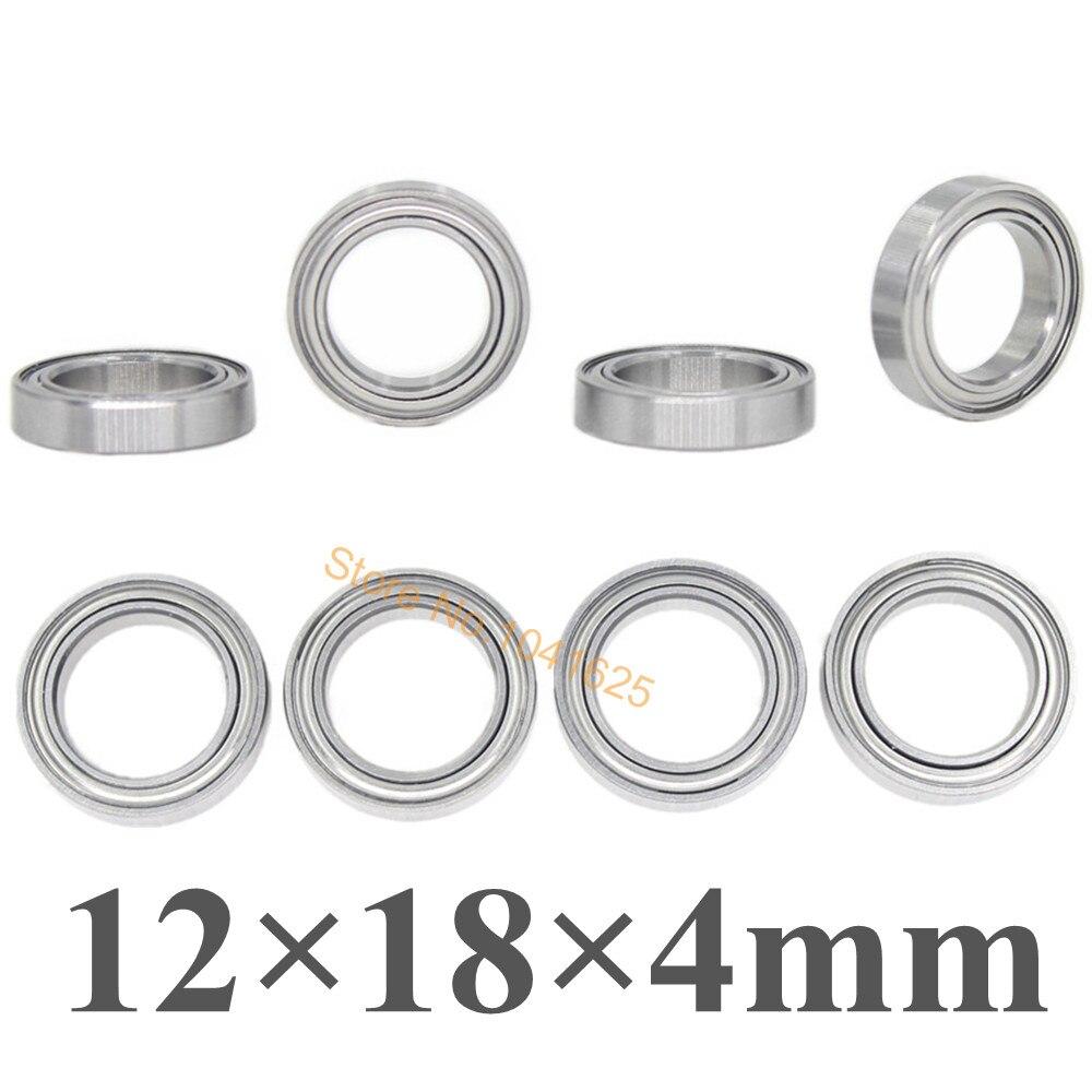 black rubber sealed 2 Traxxas Ball bearings 12x18x4mm
