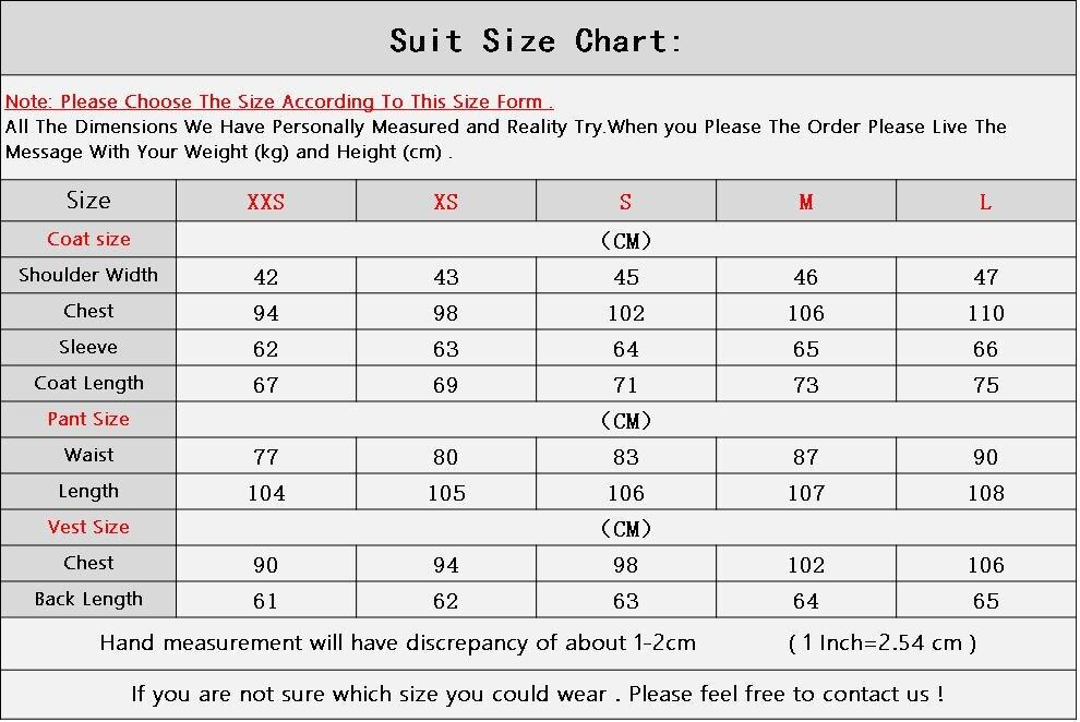 2018 Latest Designs Men Suit Set Two Button Groom Tuxedo Mens Suits