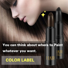 Black/Brown One-Time Hair dye Instant Gray Root Coverage Color Modify Cream Stick Temporary Cover Up White Colour Dye
