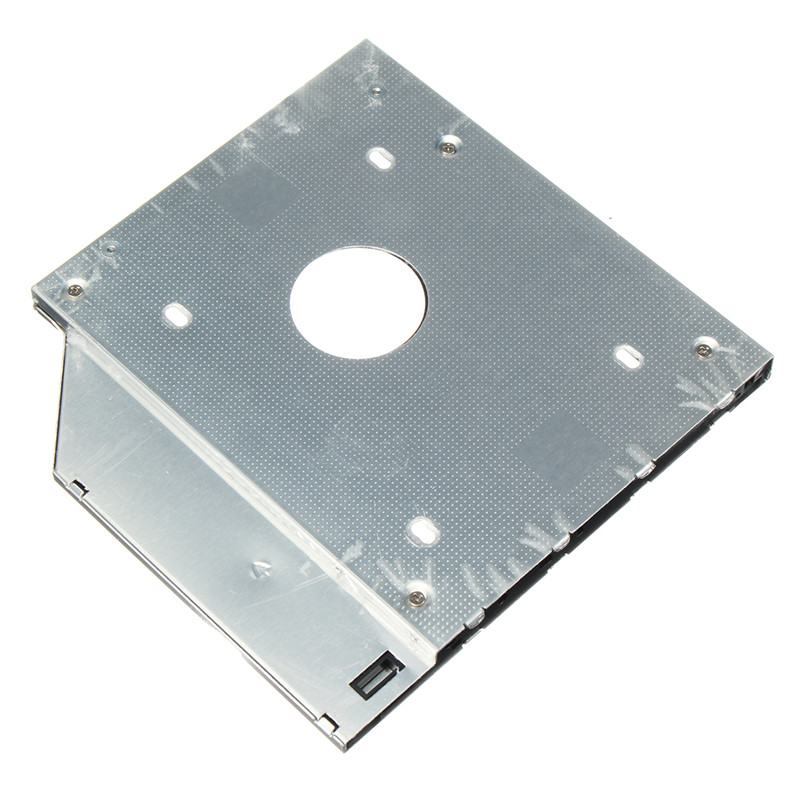 12.7mm Aluminum SATA 2nd Hard Drive Enclosure Universal HDD Caddy SSD Case For Notebook CD/DVD-ROM Optical Bay