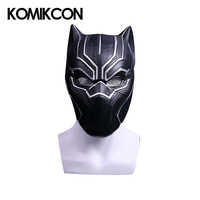 Black Panther Cosplay Mask Movie Hero Cosplay Props Halloween Christmas Costume Accessories