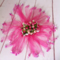 Free shipping Halloween kids fluffy dance party tutu skirt cute baby chiffon tutu princess girls floral tutu skirt