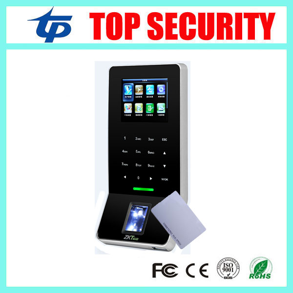F22 WIFI TCP IP color screen linux system stable fingerprint access control time attendance with RFID