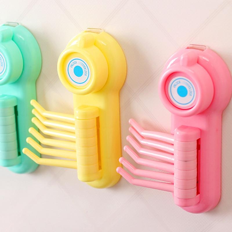 Galingi namų produktai Rankšluosčių raktų dušai Šepetys - Organizavimas ir saugojimas namuose - Nuotrauka 6