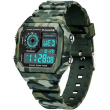 sport watch Fashion Men Camo Waterproof Daul Time Alarm Stopwatch Digital Sport Wrist Watch relogio стоимость