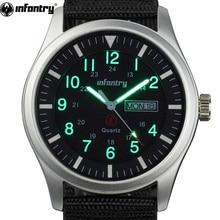 INFANTRY Military Watch Men Glow in Dark Wristwatch